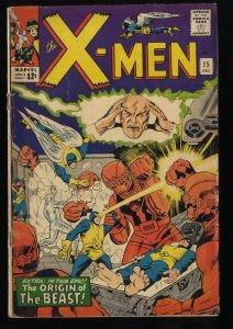 X-Men #15 VG 4.0 Marvel Comics