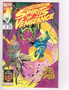 Spirits of Vengeance #11Marvel Comic Book Ghost Rider Blaze Kiss of Spider HH2
