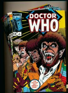 Marvel Large Lot!! DOCTOR WHO #3-5,7-9,19-20,23 1984 series NM (PF812)