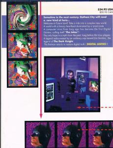 Batman: Digital Justice Hardback VF/NM DC Comics Hi-Res Scans Graphic Novel WOW!