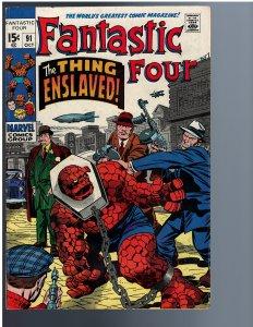 Fantastic Four #91 (1969)