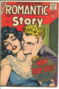 Romantic Story #42 1959-Charlton-spicy cover art-nice poses-VG