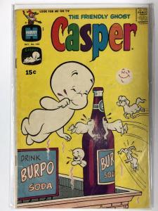 CASPER  (1958-    ) 134 G- Oct. 1969 COMICS BOOK