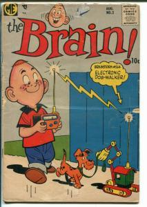 Brain #3 1957-ME Comics-Dan DeCarlo art-GOOD/VG
