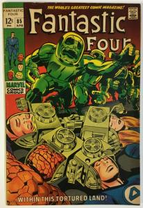 FANTASTIC FOUR 85 FINE April 1969