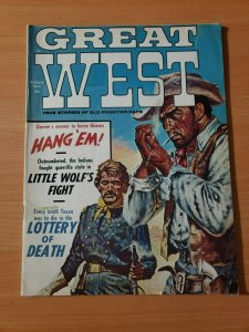 Great West Magazine True Stories of Old Frontier August 1970 ~ NEAR MINT NM ~