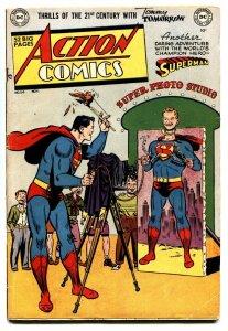 ACTION COMICS #150 1951-SUPERMAN-VIGILANTE-CONGO BILL-vg/fn