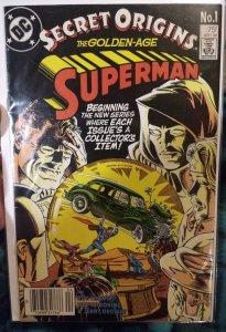 Secret origins The Golden Age Superman #1 NM