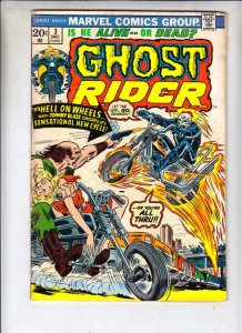 Ghost Rider, The #3 (Dec-73) VG Affordable-Grade Ghost Rider