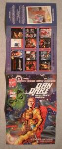 DAN DARE Promo Poster, 10.5 x 30, 2007, Unused, more in our store