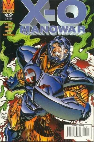 X-O Manowar (1992 series) #60, NM (Stock photo)