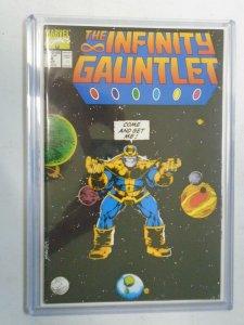 Infinity Gauntlet #4 9.4 NM (1991 1st Series)