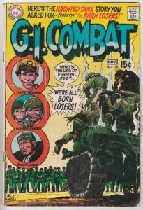 G.I. Combat #138 (Nov-69) GD Affordable-Grade The Haunted Tank