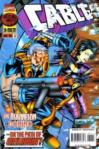 Cable (1993 series) #32, NM (Stock photo)