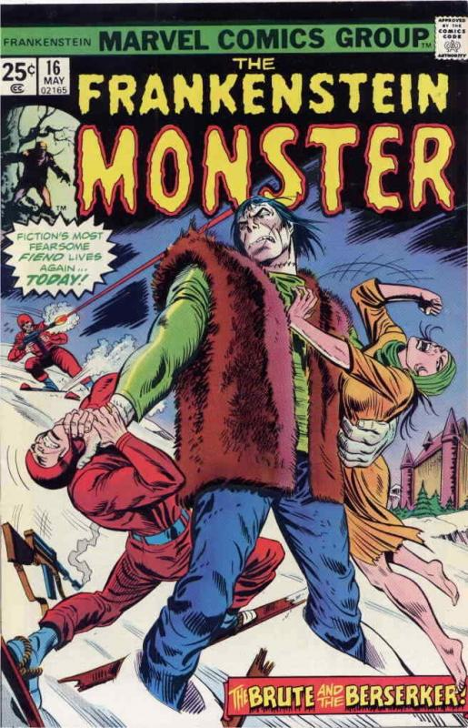 Frankenstein (The Monster Of…) #16 FN; Marvel | save on shipping - details insid