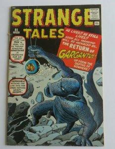 Strange Tales #85 FN- Marvel Silver Age Horror Comic 1961 Steve Ditko Jack Kirby