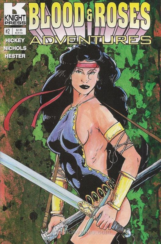 Blood & Roses Adventures #2 VF/NM; Knight | combined shipping available - detail