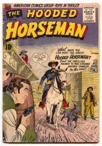 Hooded Horseman #21 1955- ACG western G/VG