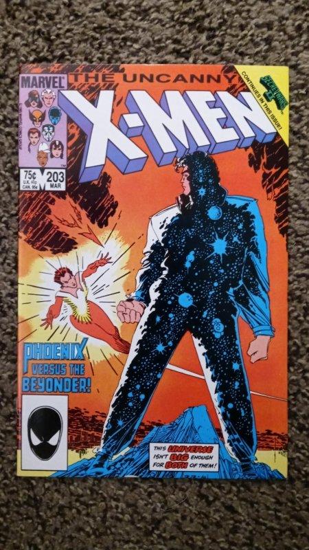 The Uncanny X-Men #203 (1986) direct edition