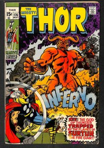 Thor #176  Marvel Comics