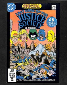Last Days of the Justice Society Special #1 (1986)