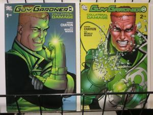 GUY GARDNER COLLATERAL DAMAGE (2006) 1-2 complete story
