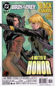 Birds of Prey #63 VF/NM; DC | save on shipping - details inside