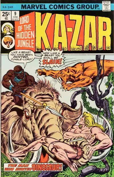 Ka-Zar (2nd Series) #9 VG; Marvel | low grade comic - save on shipping - details