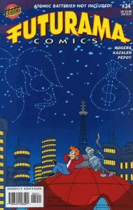 Futurama (Bongo) #34 VF/NM; Bongo | save on shipping - details inside