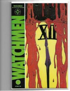 WATCHMEN #12 (DC Comics 1987) Death of RORSCHACH (VF/NM) Alan Moore