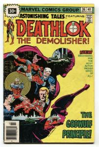ASTONISHING TALES #36-DEATHLOK-30 cent variant cover