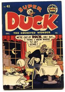 Super Duck #41 1952- Golden Age Archie Funny Animals-FN/VF
