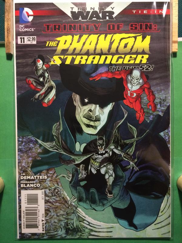 The Phantom Stranger #11 The New 52 TRINITY WAR Tie-In