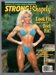Women's Physique World Presents Strong and Shapely-Winter 1992-Debbie Kruck-V...