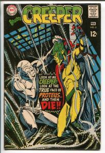 BEWARE THE CREEPER #5 1969-DC COMICS--STEVE DITKO ART-BIZARRE-vf+