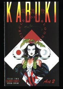 Kabuki: Circle of Blood #2 VF/NM 9.0 Signed by David Mack!
