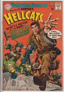 Our Fighting Forces #112 (Apr-68) FN Mid-Grade Lt. Hunter, the Hellcats