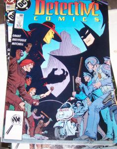 Detective Comics #609 (Dec 1989, DC) ANARKY + BATMAN ROBIN