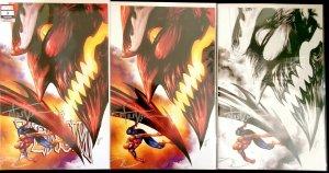 Venom #3 ️SIGNED BY Tyler Kirkham Virgin, sketch, trade  1st Knull w/COA