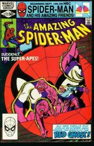 AMAZING SPIDER-MAN #223-1981-MARVEL-fine FN