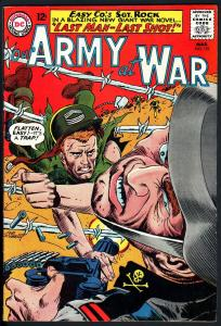 OUR ARMY AT WAR #152 1965-DC WAR COMIC-SGT. ROCK-HIGH GRADE-VF