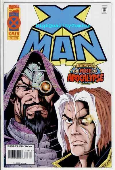 X-MAN #3, NM, Jeph Loeb, Age of Apocalypse, Sinister, more Marvel in store