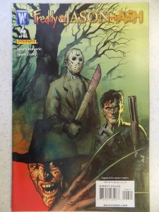 Freddy vs Jason vs Ash (of Army of Darkness) #4 (2008)