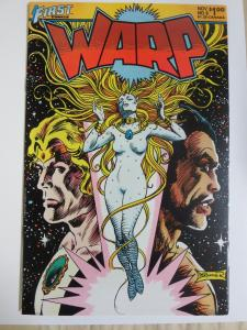 Warp Comics (First 1983) Science Fiction 1st Work by Bill Willingham + Signed!
