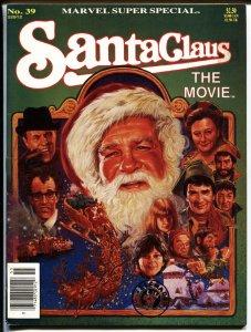 Marvel Super Special #39 1985-SANTA CLAUS THE MOVIE vf+
