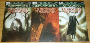 Infestation 2: Dungeons & Dragons #1-2 VF/NM complete series + variant - set