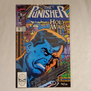 Punisher 30 Near Mint Cover art by Bill Reinhold