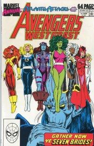 Avengers West Coast Annual 4 1989  9.0 (our highest grade)  Atlantis Attacks!