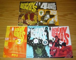 Amazing Joy Buzzards vol. 2 #1-5 VF/NM complete series  image comics set lot 3 4