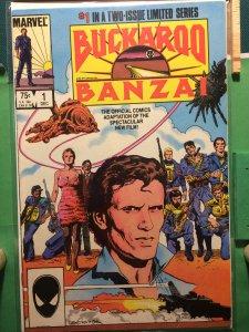 Buckaroo Banzai #1 Official Movie Adaptation